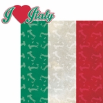 Italia: I Heart Italy 2 Piece Laser Die Cut Kit
