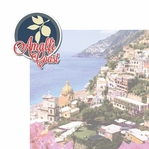Italian Adventures: Amalfi Coast 2 Piece Laser Die Cut Kit