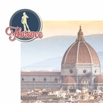 Italian Adventures: Florence 2 Piece Laser Die Cut Kit
