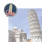 Italian Adventures: Pisa 2 Piece Laser Die Cut Kit