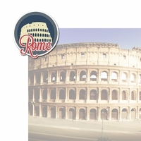 Italian Adventures: Rome 2 Piece Laser Die Cut Kit