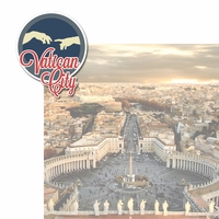 Italian Adventures: Vatican City 2 Piece Laser Die Cut Kit