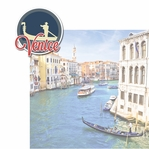 Italian Adventures: Venice 2 Piece Laser Die Cut Kit