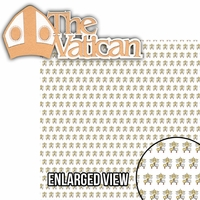 Italian Memories: The Vatican  2 Piece Laser Die Cut Kit