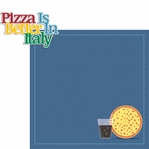 Italy: Better Pizza In Italy 2 Piece Laser Die Cut Kit