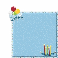 January: Happy Birthday 2 Piece Laser Die Cut Kit