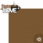 Java Love: Java Love 2 Piece Laser Die Cut Kit