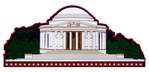 Jefferson Memorial Laser Die Cut