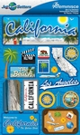 Jetsetters: California Die Cut Stickers