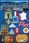 Jetsetters: France Die Cut Stickers