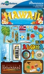Jetsetters: Hawaii Die Cut Stickers