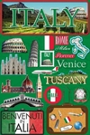 Jetsetters: Italy Die Cut Stickers