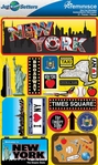 Jetsetters: New York Die Cut Stickers