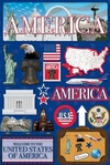 Jetsetters: United States Die Cut Stickers