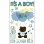 Jolee's Boutique: It�s a Boy Dimensional Stickers