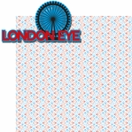 Jolly Old London: London Eye 2 Piece Laser Die Cut Kit
