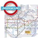 Jolly Old London: Underground 2 Piece Laser Die Cut Kit