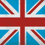 Jolly Old London: Union Jack 12x12 Paper