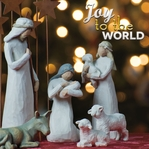 Joy to the World: Nativity Scene 12 x 12 Paper