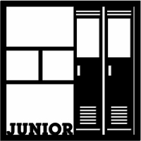 Junior 12 x 12 Overlay Laser Die Cut