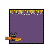 Just Treats: Halloween Party 2 Piece Laser Die Cut Kit