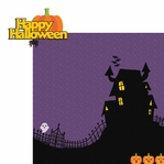 Just Treats: Happy Halloween 2 Piece Laser Die Cut Kit