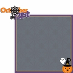 Just Treats: Oct 31st 2 Piece Laser Die Cut Kit