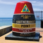Key West: Southermost Point 12 x 12 Paper