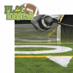Kick Off: Flag Football 2 piece Laser Die Cut