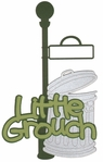 Kids: Little Grouch Laser Die Cut
