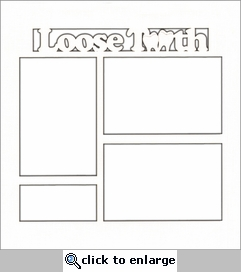 Kids: Loose Tooth 12 x 12 Overlay Laser Die Cut