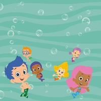 Kids Shows: Bubble Guppies 12 x 12 Paper