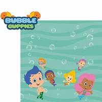 Kids Shows: Bubble Guppies 2 Piece Laser Die Cut Kit