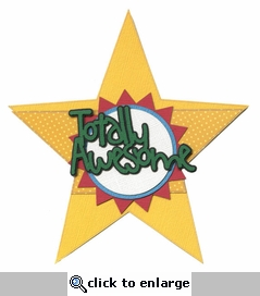 Kids: Totally Awesome Star Laser Die Cut