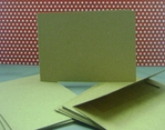 Kraft Horizontal Cards and Envelopes (8 Pack)