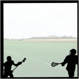 Lacrosse: The Big Game 12 x 12 Overlay Quick Page Laser Die Cut
