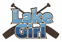 Lake Girl Laser Die Cut