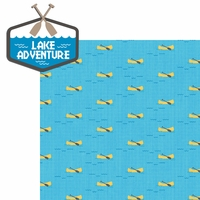 Lake Life: Lake Adventure 2 Piece Laser Die Cut Kit