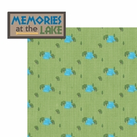 Lake Life: Memories At The Lake 2 Piece Laser Die Cut Kit