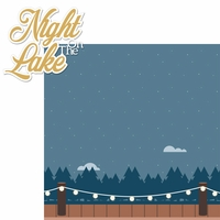 Lake Life: Night On The Lake 2 Piece Laser Die Cut Kit