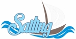Lake: Sailing Laser Die Cut