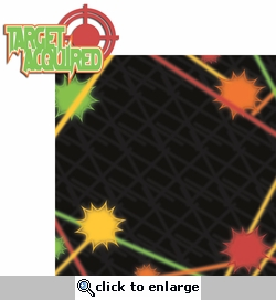 Laser Tag: Target Acquired 2 Piece Laser Die Cut Kit