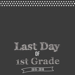 Last Day Of School 12 x 12 Custom Paper