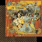 Le Cirque 12 x 12 Double-Sided Paper