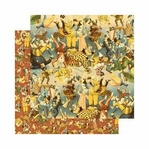 Le Cirque: Dazzle and Delight 12 x 12 Double-Sided Paper