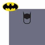 League of Justice: Bat Man 2 Piece Laser Die Cut Kit