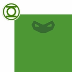 League of Justice: Green Lantern 2 Piece Laser Die Cut Kit