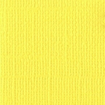 Lemonade Canvas 12 X 12 Bazzill Cardstock (Yellow)