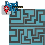 Let's Go: Road Trip 2 Piece Laser Die Cut Kit