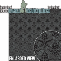 Liberty Square: Beware Of Hitchhiking Ghosts 2 piece Laser Die Cut Kit